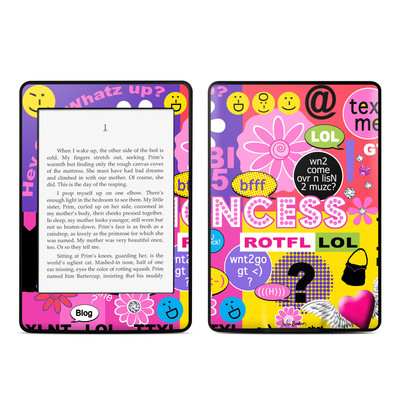 Amazon Kindle Paperwhite Skin - Princess Text Me