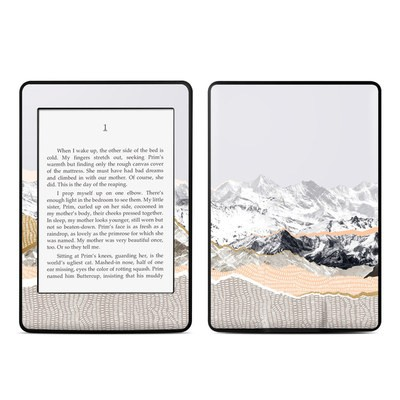 Amazon Kindle Paperwhite Skin - Pastel Mountains