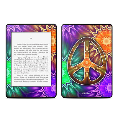 Amazon Kindle Paperwhite Skin - Peace Triptik