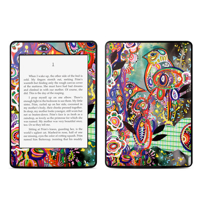 Amazon Kindle Paperwhite Skin - Purple Birds