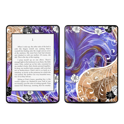 Amazon Kindle Paperwhite Skin - Purple Waves