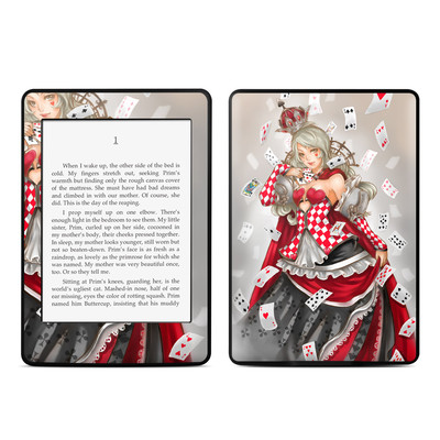 Amazon Kindle Paperwhite Skin - Queen Of Cards