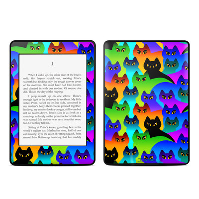 Amazon Kindle Paperwhite Skin - Rainbow Cats