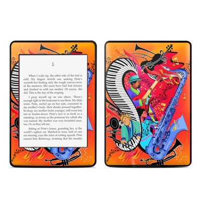 Amazon Kindle Paperwhite Skin - Red Hot Jazz