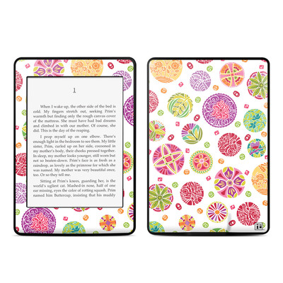 Amazon Kindle Paperwhite Skin - Round Flowers