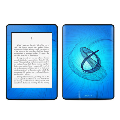 Amazon Kindle Paperwhite Skin - Rotating Swirls