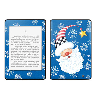 Amazon Kindle Paperwhite Skin - Santa Snowflake