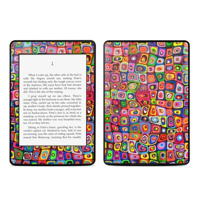 Amazon Kindle Paperwhite Skin - Square Dancing
