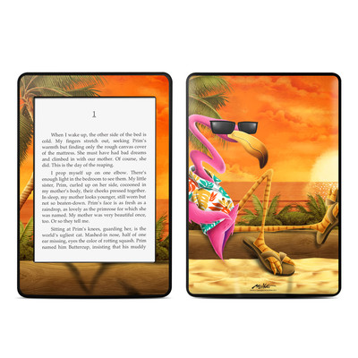 Amazon Kindle Paperwhite Skin - Sunset Flamingo