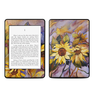 Amazon Kindle Paperwhite Skin - Sunflower