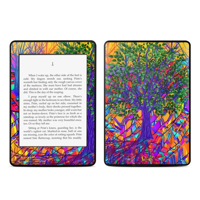 Amazon Kindle Paperwhite Skin - Stained Glass Tree