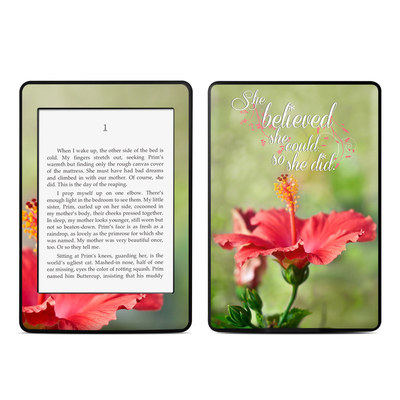 Amazon Kindle Paperwhite Skin - She Believed