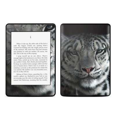 Amazon Kindle Paperwhite Skin - Silver Shadows