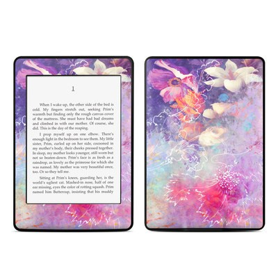 Amazon Kindle Paperwhite Skin - Sketch Flowers Lily