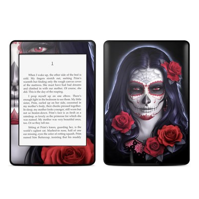 Amazon Kindle Paperwhite Skin - Sugar Skull Rose