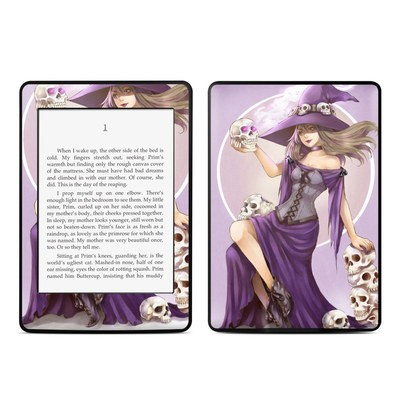 Amazon Kindle Paperwhite Skin - Skull Witch