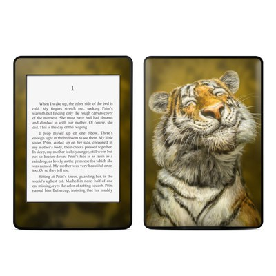 Amazon Kindle Paperwhite Skin - Smiling Tiger