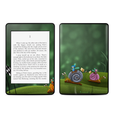 Amazon Kindle Paperwhite Skin - Snail Race