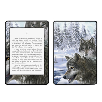 Amazon Kindle Paperwhite Skin - Snow Wolves