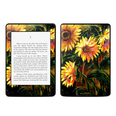 Amazon Kindle Paperwhite Skin - Sunflower Sunshine