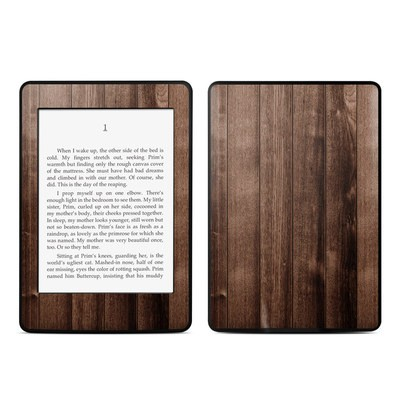 Amazon Kindle Paperwhite Skin - Stained Wood