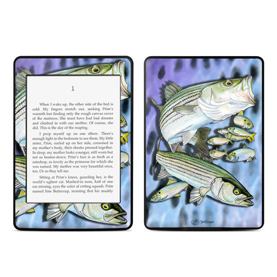 Amazon Kindle Paperwhite Skin - Striped Bass