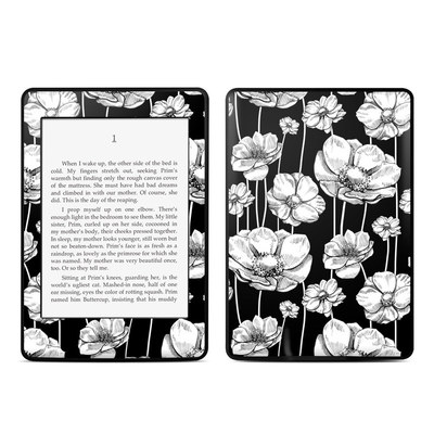 Amazon Kindle Paperwhite Skin - Striped Blooms