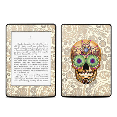 Amazon Kindle Paperwhite Skin - Sugar Skull Bone