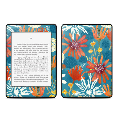 Amazon Kindle Paperwhite Skin - Sunbaked Blooms