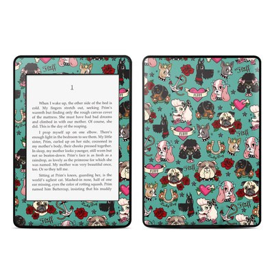 Amazon Kindle Paperwhite Skin - Tattoo Dogs