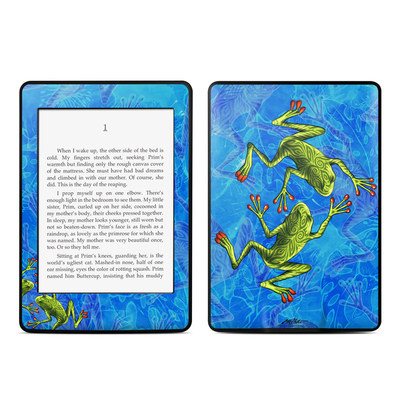 Amazon Kindle Paperwhite Skin - Tiger Frogs