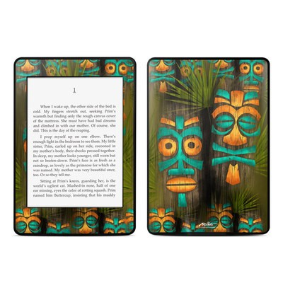 Amazon Kindle Paperwhite Skin - Tiki Abu