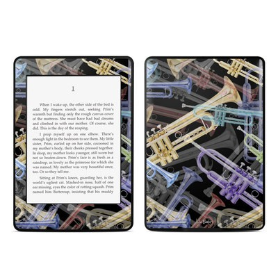 Amazon Kindle Paperwhite Skin - Trumpets
