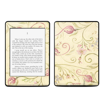 Amazon Kindle Paperwhite Skin - Tulip Scroll