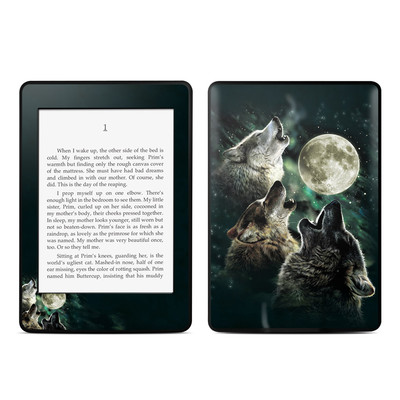 Amazon Kindle Paperwhite Skin - Three Wolf Moon