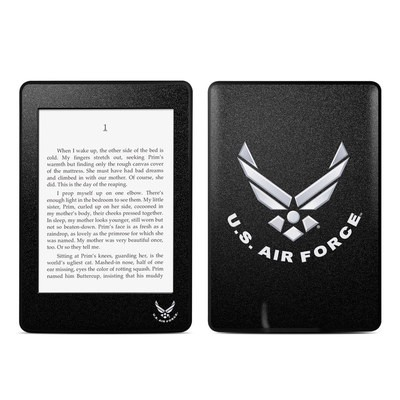 Amazon Kindle Paperwhite Skin - USAF Black