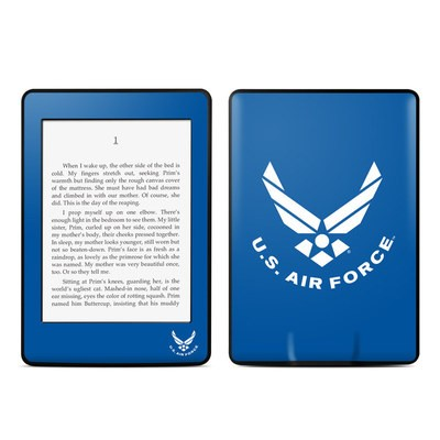 Amazon Kindle Paperwhite Skin - USAF Blue