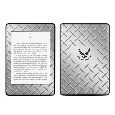 Amazon Kindle Paperwhite Skin - USAF Diamond Plate