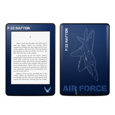 Amazon Kindle Paperwhite Skin - F-22 Raptor