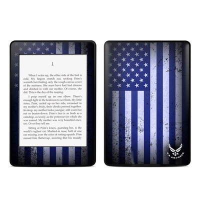 Amazon Kindle Paperwhite Skin - USAF Flag
