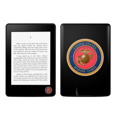 Amazon Kindle Paperwhite Skin - USMC Black