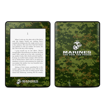 Amazon Kindle Paperwhite Skin - USMC Camo