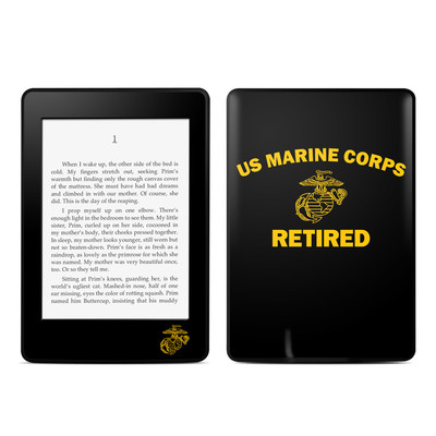 Amazon Kindle Paperwhite Skin - USMC Retired