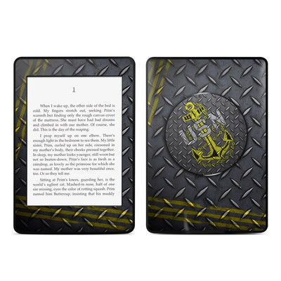 Amazon Kindle Paperwhite Skin - USN Diamond Plate
