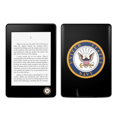 Amazon Kindle Paperwhite Skin - USN Emblem