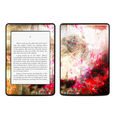 Amazon Kindle Paperwhite Skin - Woodflower