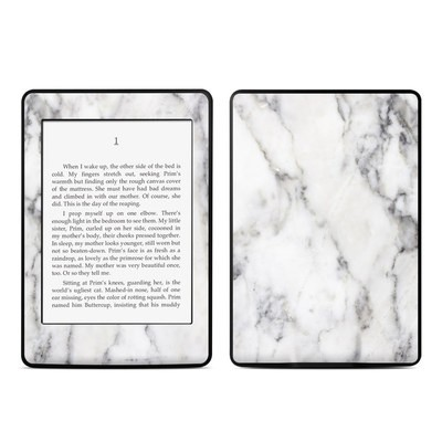 Amazon Kindle Paperwhite Skin - White Marble