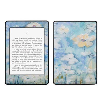 Amazon Kindle Paperwhite Skin - White & Blue