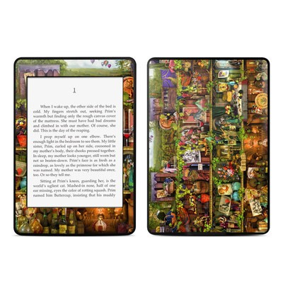 Amazon Kindle Paperwhite Skin - Wine Shelf