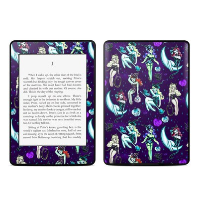 Amazon Kindle Paperwhite Skin - Witches and Black Cats